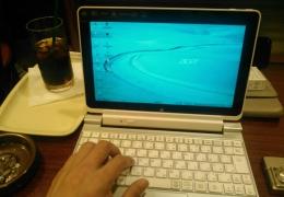 ライターY.Hさんが執筆で使ってるパソコン